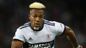 Adama Traore Middlesbrough 2017-18
