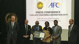 FAM, AFC, Coaching Convention, 25 Jun 2019