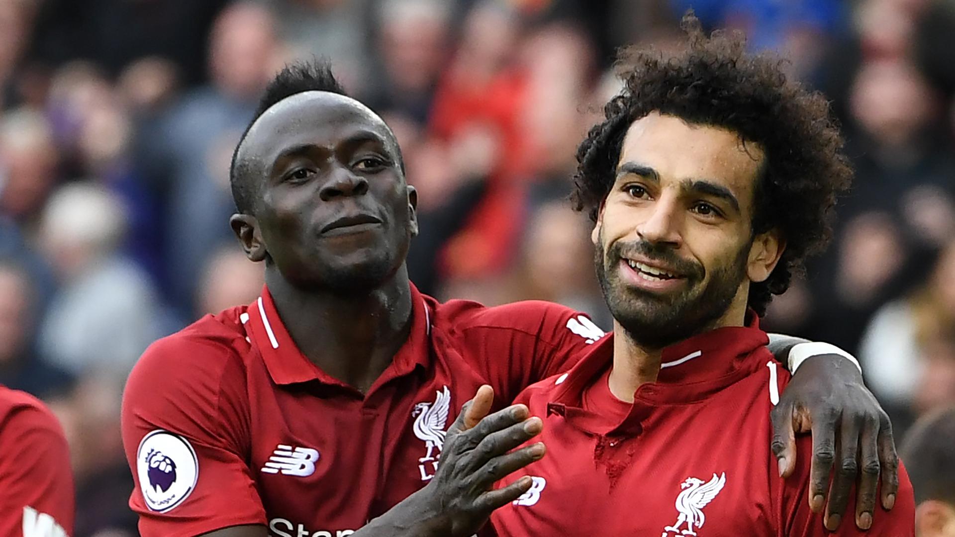 Mohamed Salah Sadio Mane Liverpool 2018