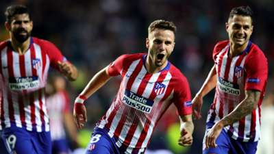 Diego Costa Saul Niguez Atletico Madrid