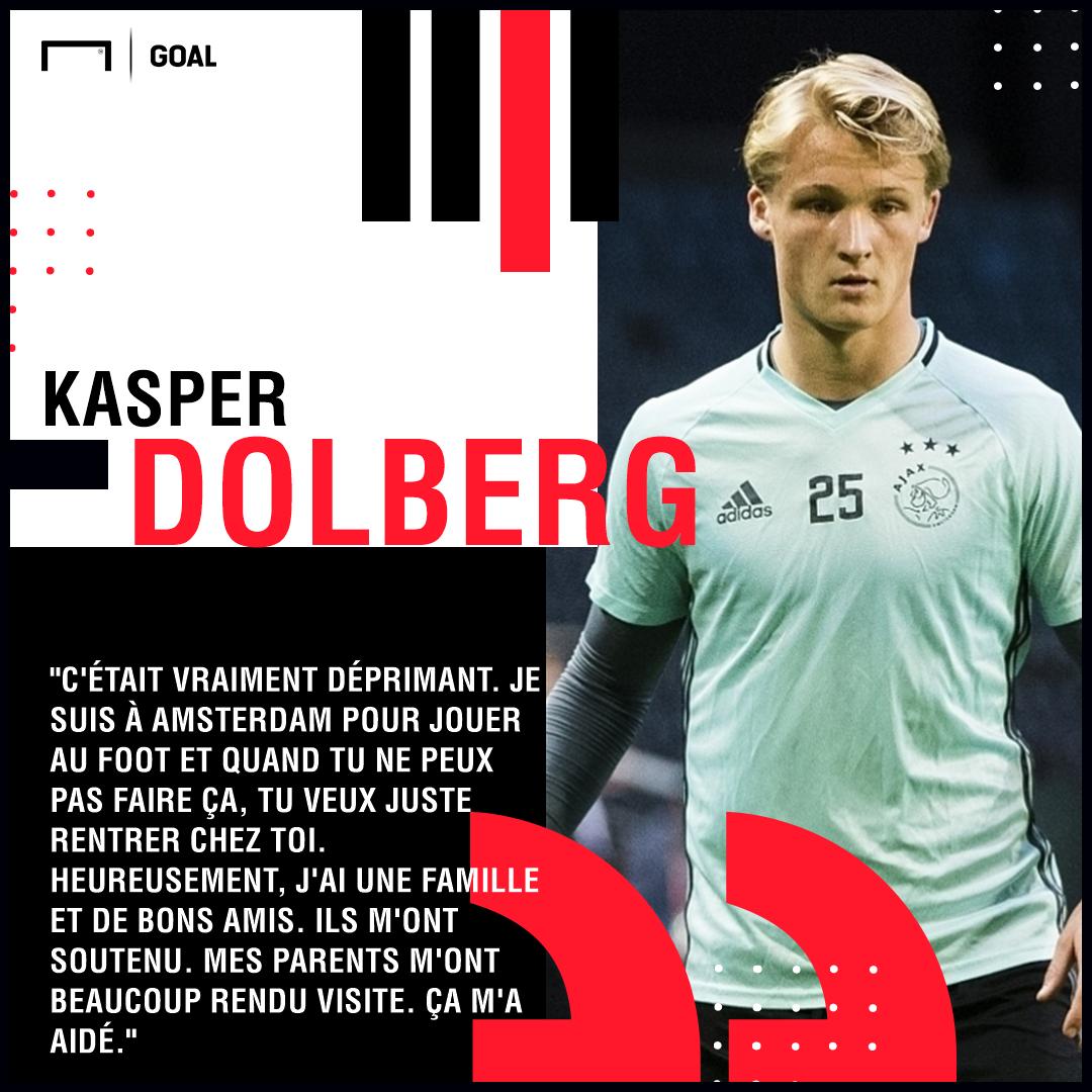 Ligue Des Champions Entre La Deprime Et Les Blessures A Repetition La Traversee Du Desert De Kasper Dolberg Goal Com