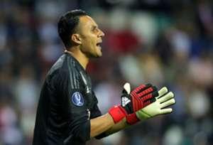 KEYLOR NAVAS CSKA MOSCU REAL MADRID CHAMPIONS LEAGUE