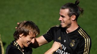 Luka Modric Gareth Bale Real Madrid 2019