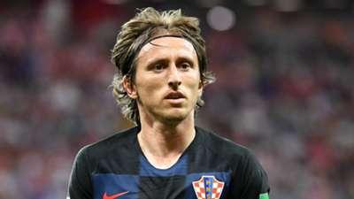 Luka Modric Croatia 2018