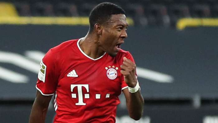 David Alaba Bayern Munich 2020-21