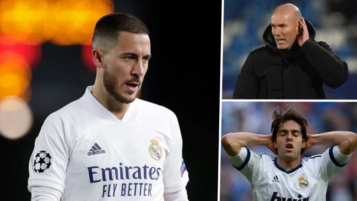 Ede Hazard Zinedine Zidane Kaka Real Madrid GFX