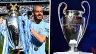 Premier League Champions League David Silva