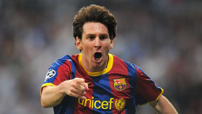 Lionel Messi Barcelona Real Madrid 2010