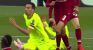 Andy Robertson Lionel Messi Liverpool Barcelona Champions League 2019