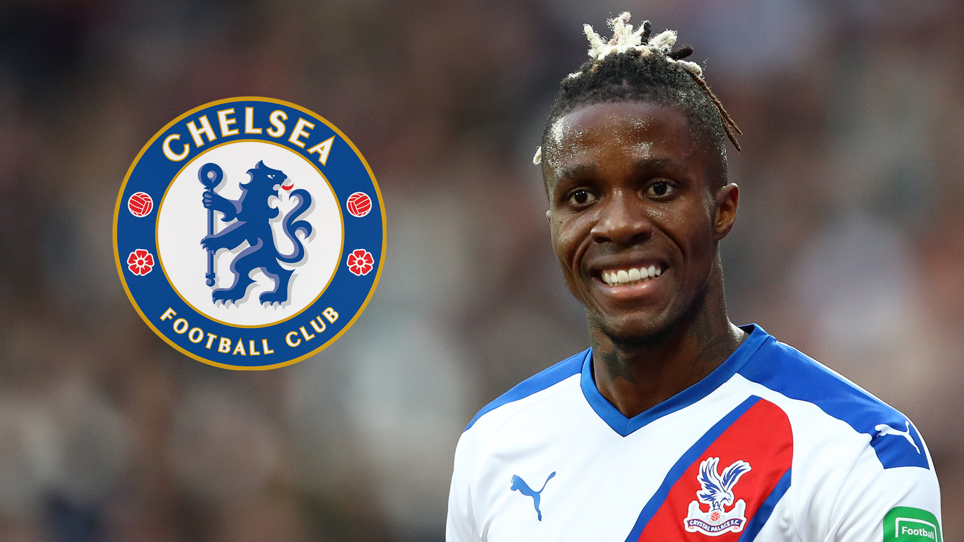 Image result for wilfried zaha chelsea