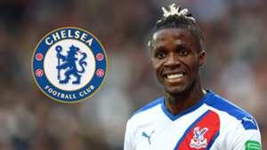 Wilfried Zaha Crystal Palace Chelsea