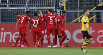 Borussia Dortmund Bayern Munchen 05/26/20