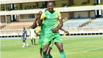 Duke Abuya of Kariobangi Sharks v Gor Mahia.
