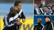 Lassana Diarra Cristiano Ronaldo Harry Redknapp Kylian Mbappe Real Madrid Portsmouth PSG GFX
