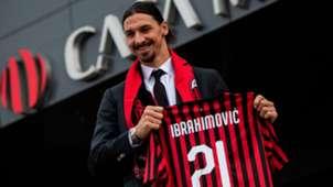 Zlatan Ibrahimovic Milan Serie A