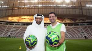 Hassan Al Thawadi Xavi Hernandez Qatar 2018