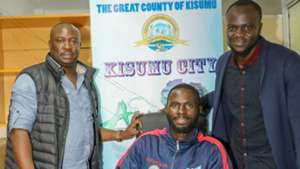 Jackson Ogengo signs for Kisumu All Stars.