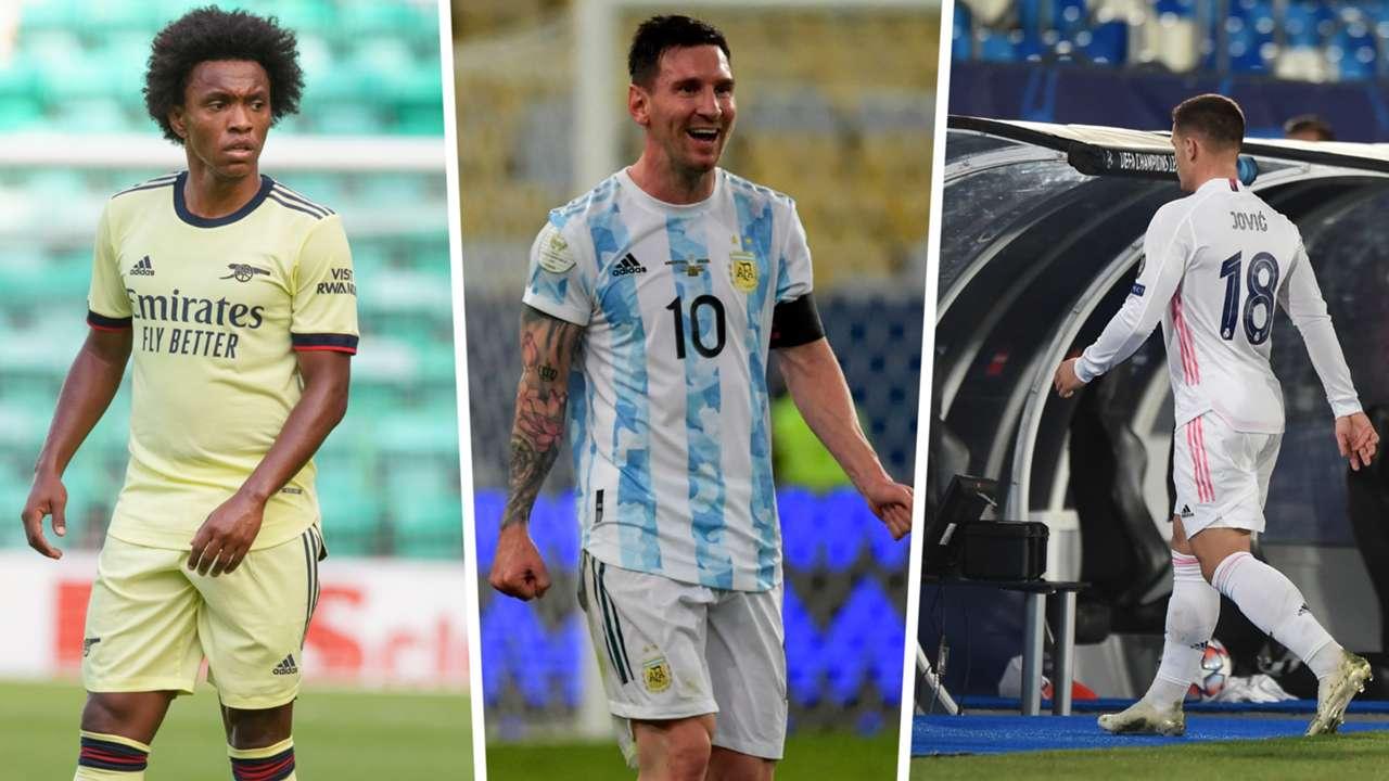 Luka Jovic Willian Messi