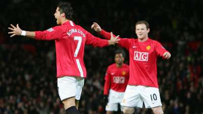 Ronaldo Man United Portsmouth 2008