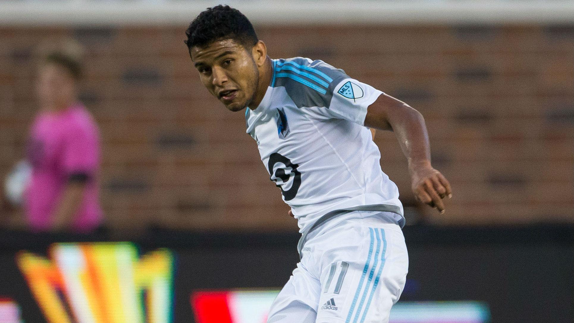 Johan Venegas, Minnesota United