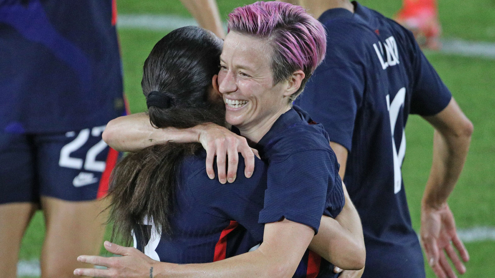 Megan Rapinoe shows she's far from finished as USWNT repeats in SheBelieves Cup