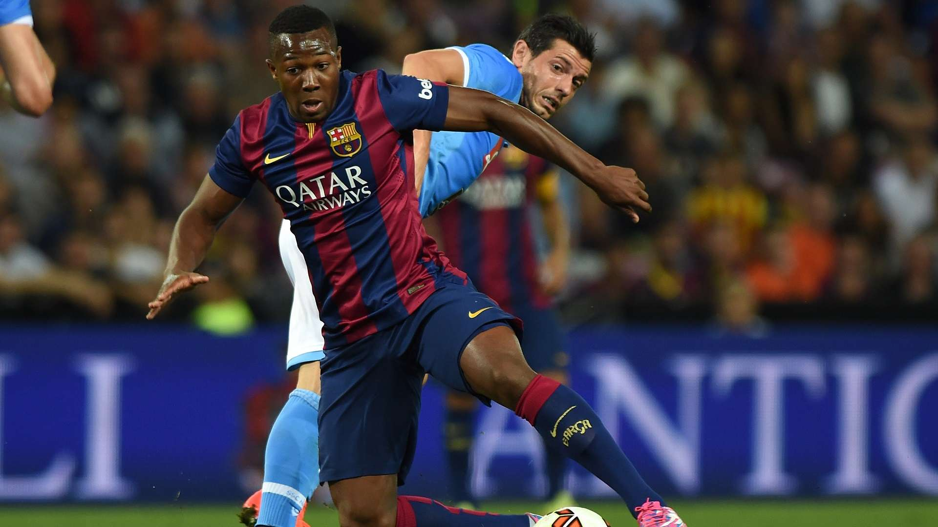 Adama Traore Ready For Top Premier League Club After Long Journey From Barcelona Goal Com