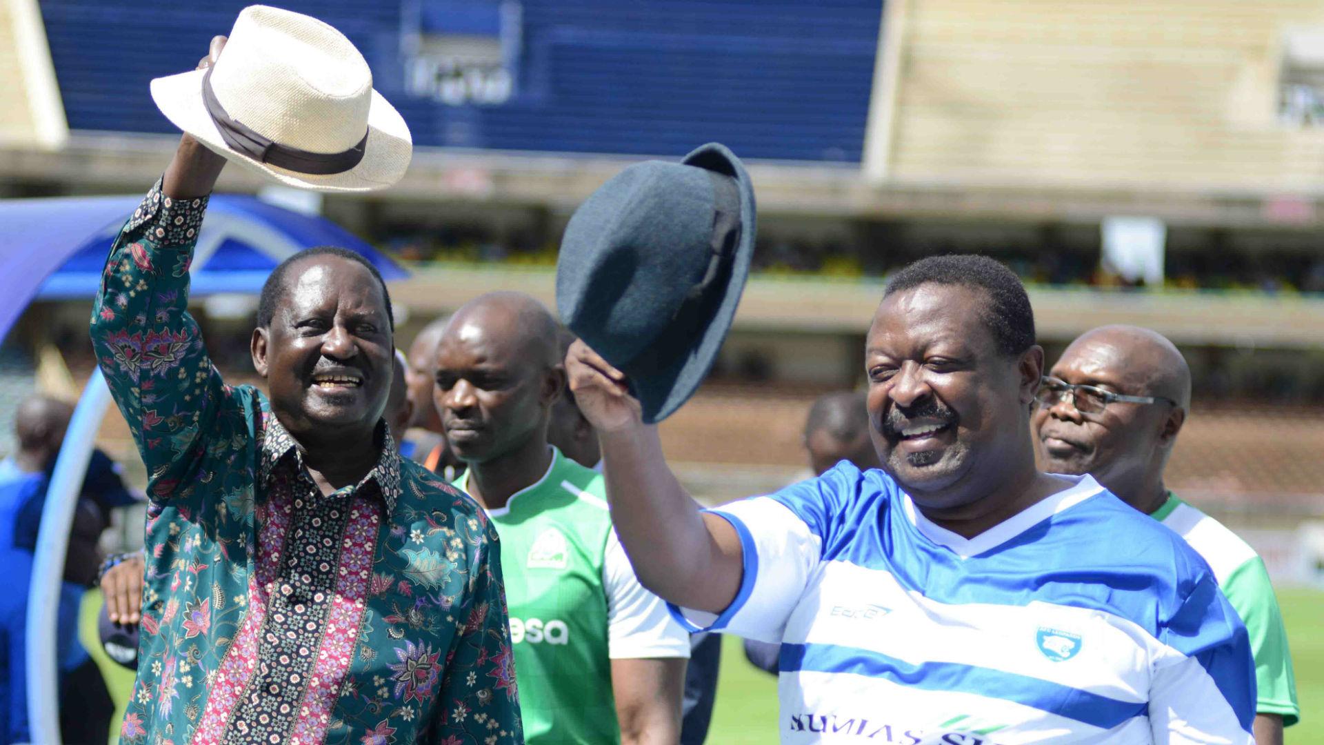 FKF presidential aspirant Mwachiro lauds Mudavadi's financial boost for AFC Leopards