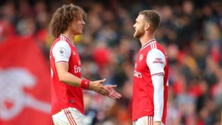 David Luiz Calum Chambers Arsenal 2019/20