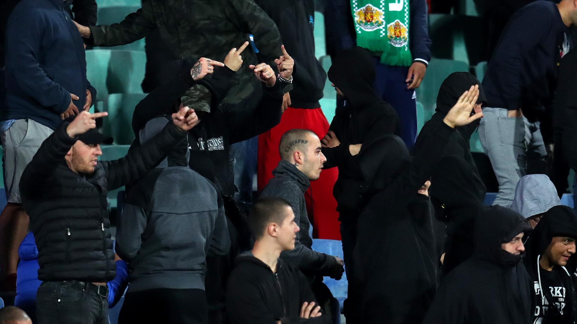Bulgaria boss Balakov 'did not hear' racist chanting