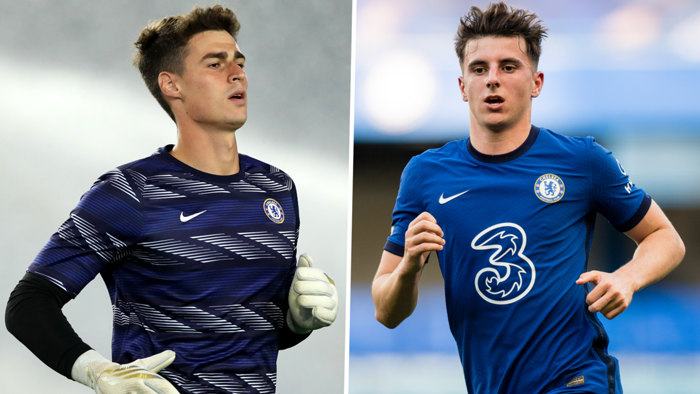 Kepa and Mason Mount
