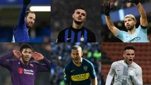 collage delanteros Argentina