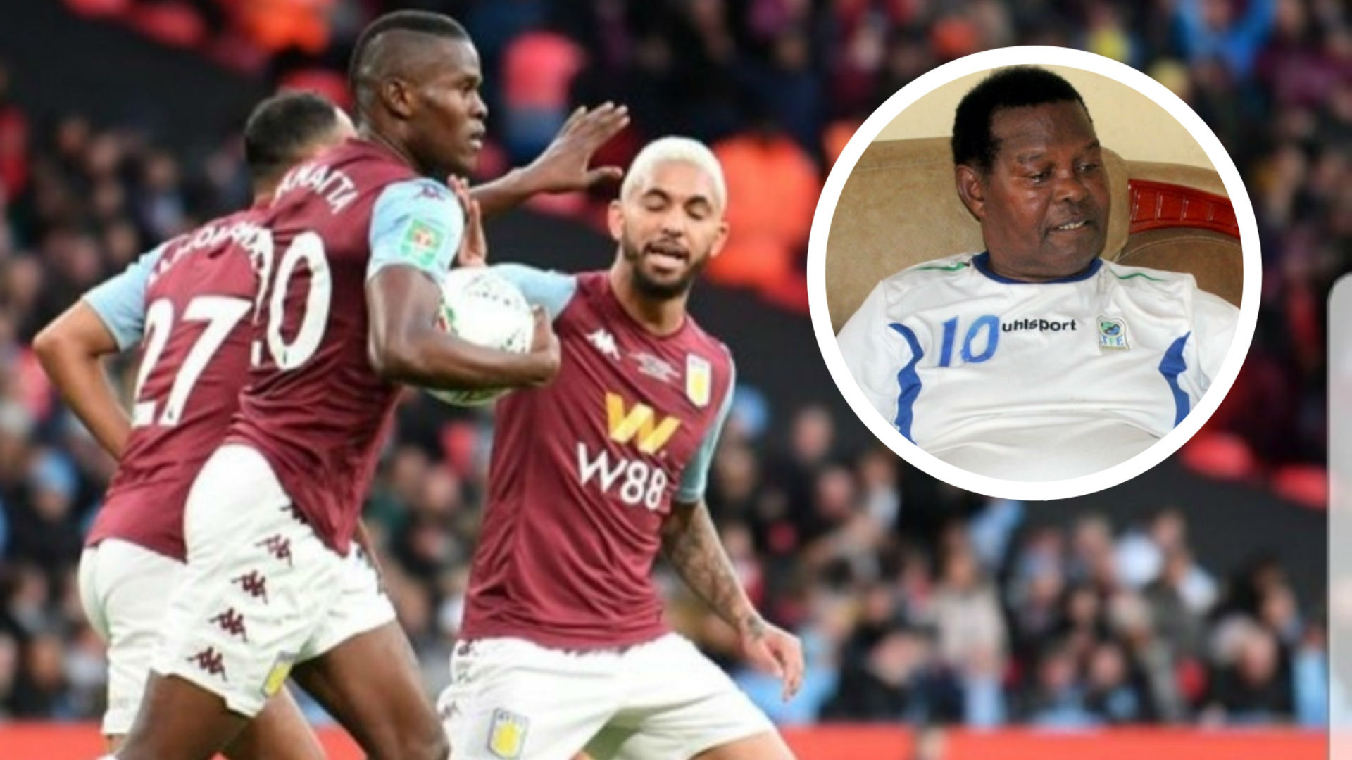 Mzee Samatta: My son is committed to Aston Villa, can only play in England