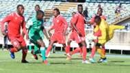 Gor Mahia striker Nicholas Kipkirui vs DC Motema Pembe.