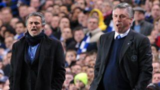 Jose Mourinho Carlo Ancelotti