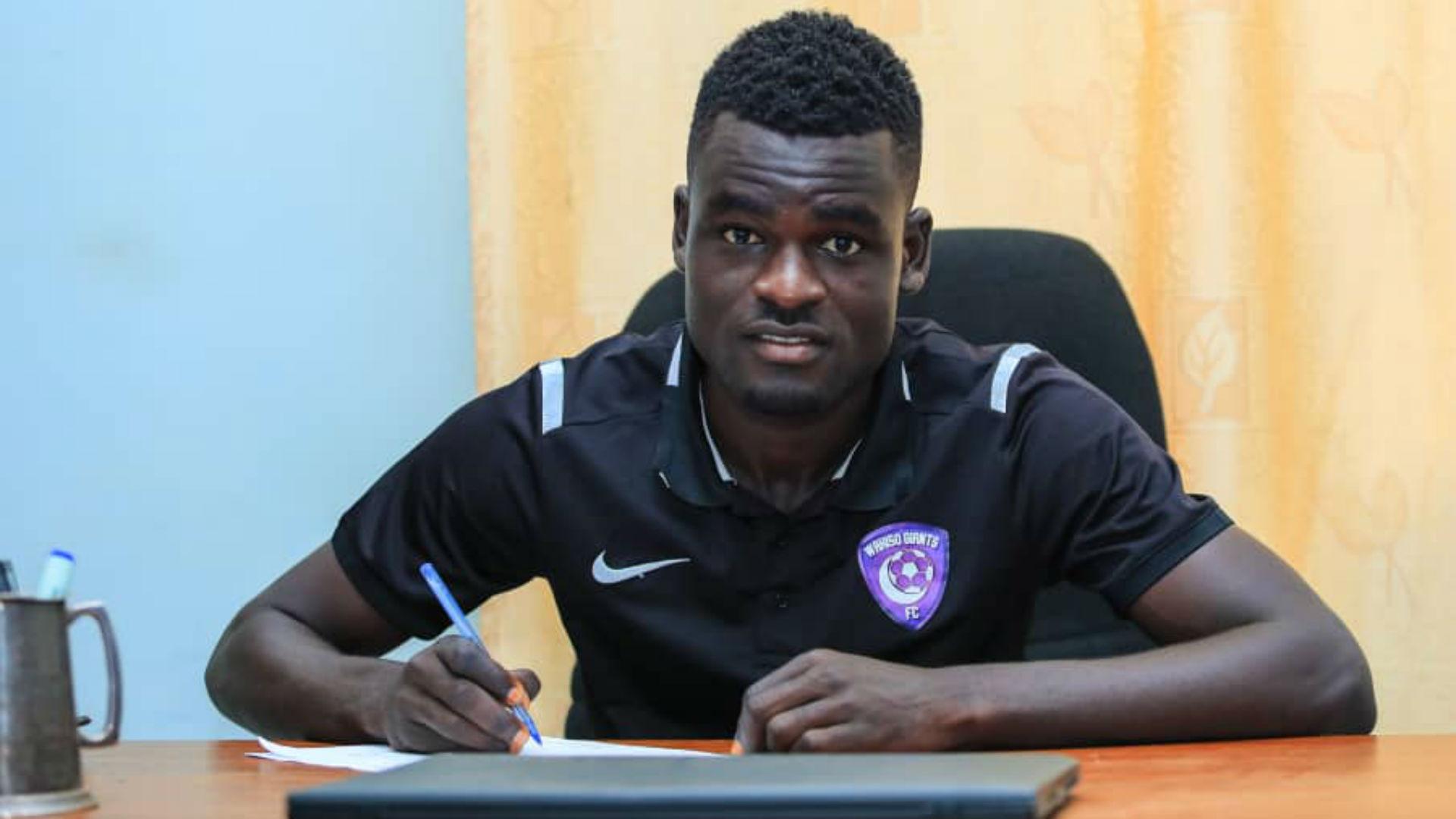 Wahab: Wakiso Giants sign long-serving Onduparaka FC midfielder