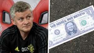 Ole Gunnar Solskjaer Manchester United Glazer Out protest
