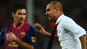 Lionel Messi Pep Guardiola Barcelona