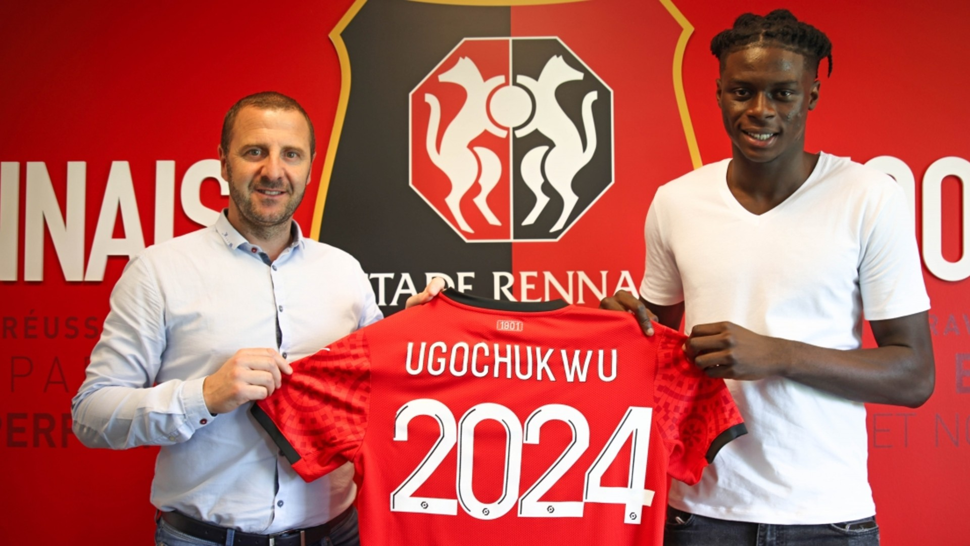 Lesley Ugochukwu: Nigeria target signs contract extension at Rennes