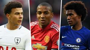 Dele Alli Ashley Young Willian