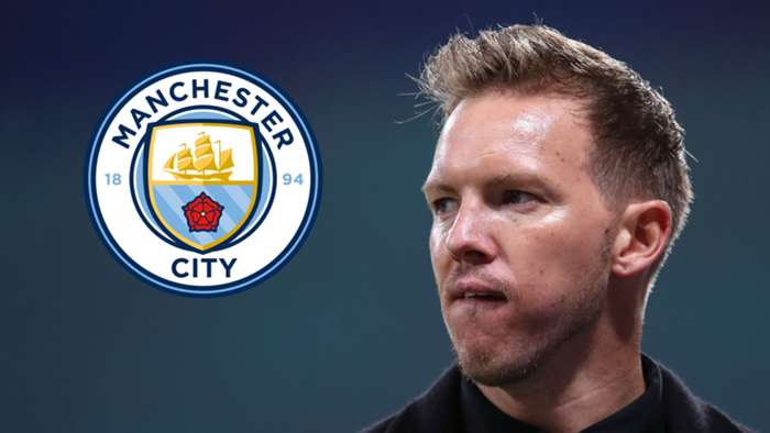 Julian Nagelsmann/Man City composite 2020