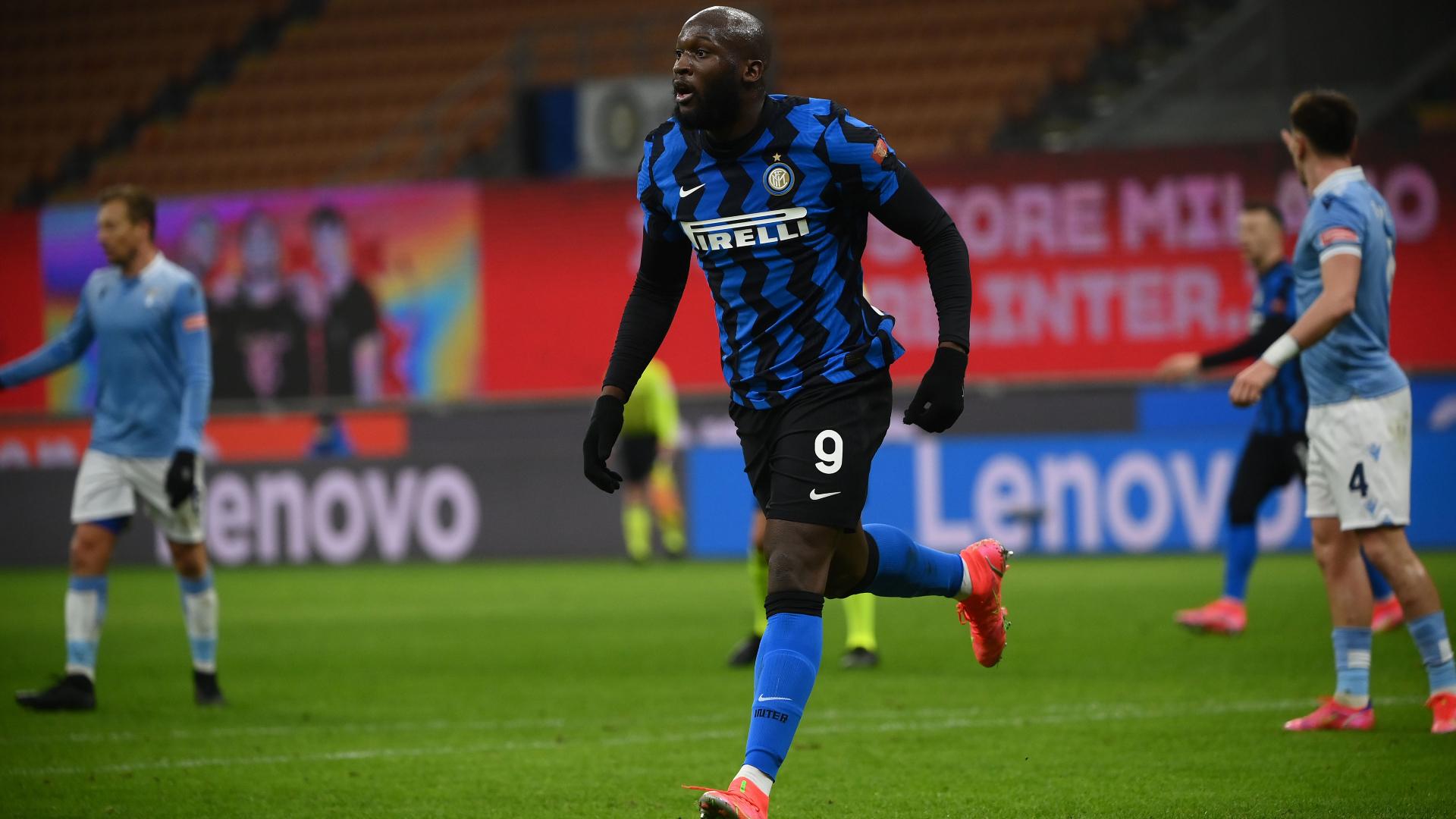 Romelu Lukaku Inter Lazio Serie A 2020-2021