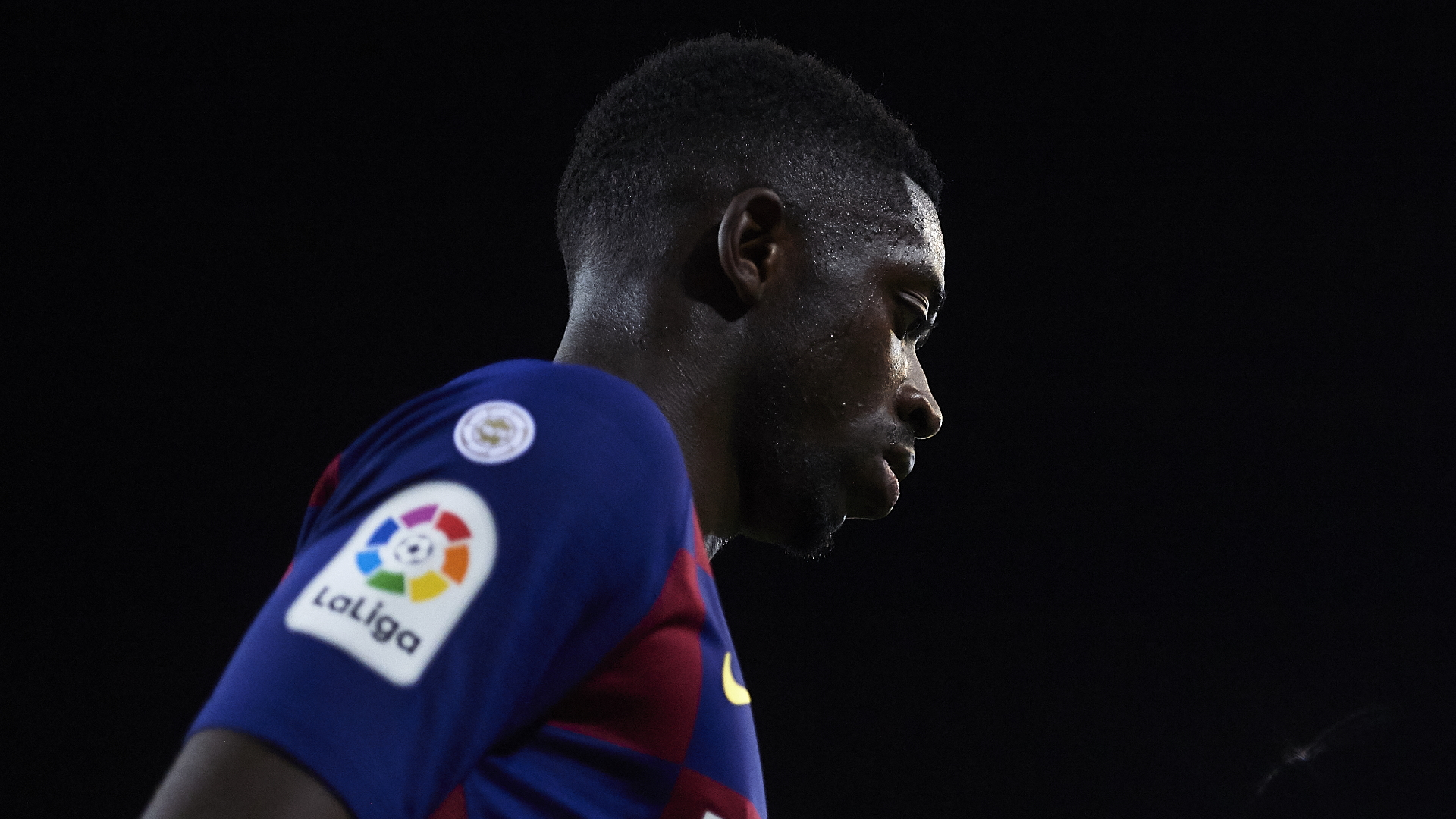 Ousmane Dembele striker suffers from a setback