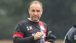 Harambee Stars coach Sebastien Migne.