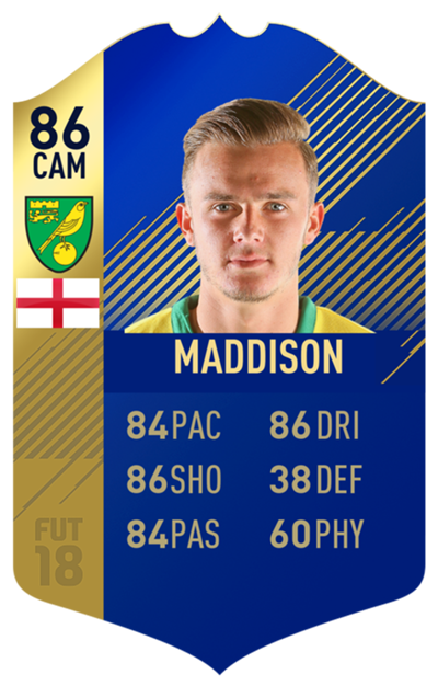 FIFA 18 EFL Team of the Season Maddison