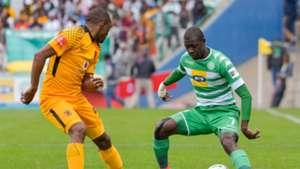 Bernard Parker of Kaizer Chiefs against Bloemfontein Celtic