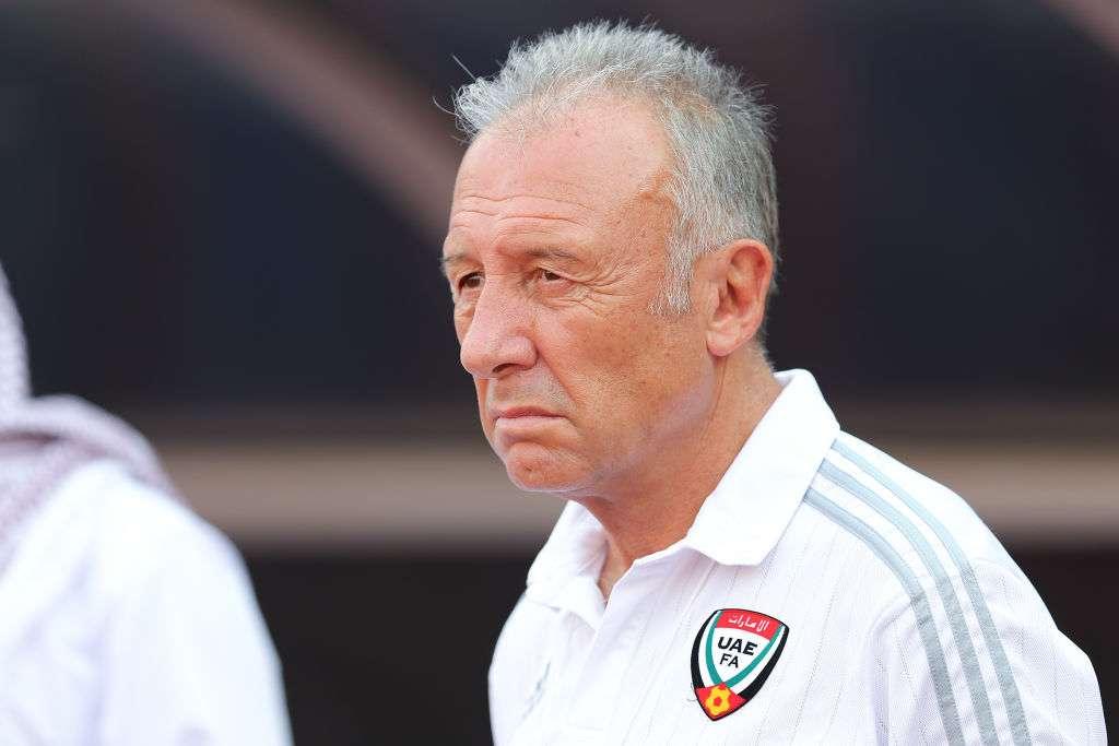 Alberto Zaccheroni; UAE coach