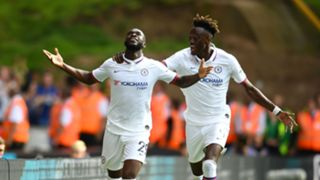 Fikayo Tomori and Tammy Abraham Chelsea