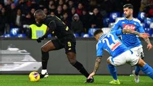 Romelu Lukaku Inter Napoli 06-01-2020