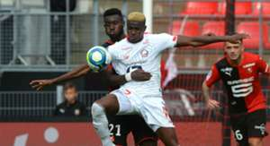 Victor Osimhen fires blank as Lille hold Youcef Atal's Nice