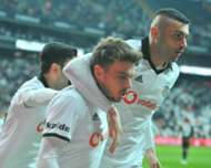 Adem Ljajic Burak Yilmaz Besiktas Alanyaspor Turkish Super League 05/13/19